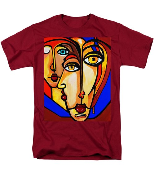 New Picasso By Nora Friends Men's T-Shirt  (Regular Fit) by Nora Shepley