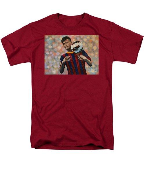 Neymar Men's T-Shirt  (Regular Fit) by Paul Meijering
