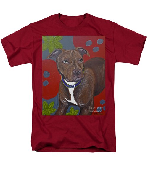 Niko The Pit Bull Men's T-Shirt  (Regular Fit) by Ania M Milo