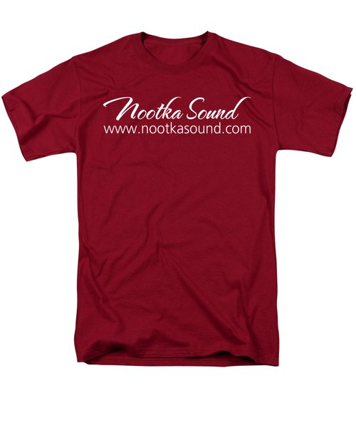 Nootka Sound Logo #14 Men's T-Shirt  (Regular Fit) by Nootka Sound