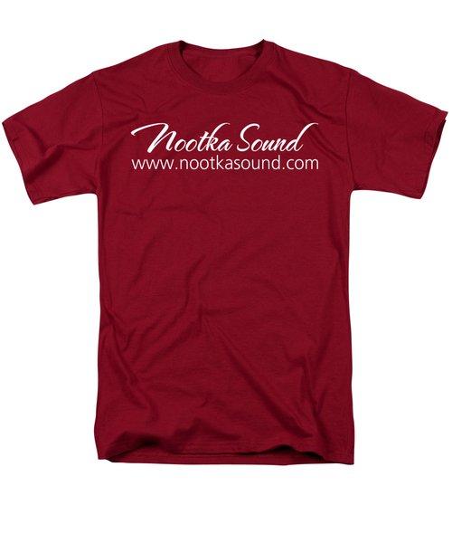 Nootka Sound Logo #14 Men's T-Shirt  (Regular Fit) by Nootka Sound