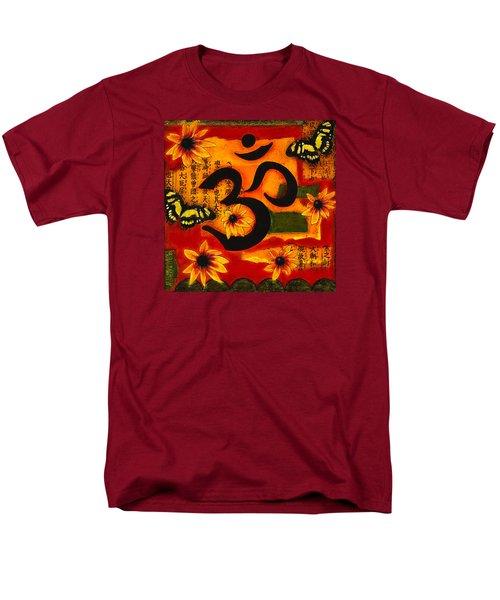 Om Men's T-Shirt  (Regular Fit) by Gloria Rothrock