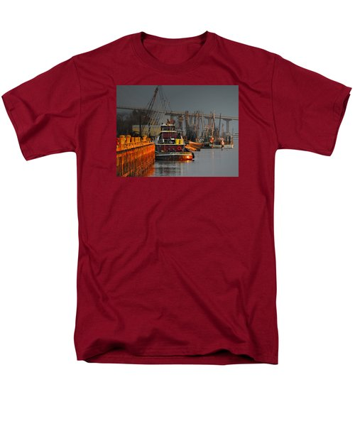 On The Waterfront Men's T-Shirt  (Regular Fit) by Laura Ragland