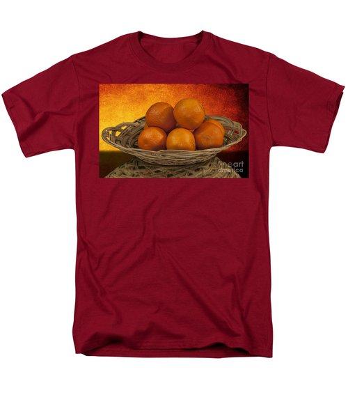Orange Basket Men's T-Shirt  (Regular Fit)
