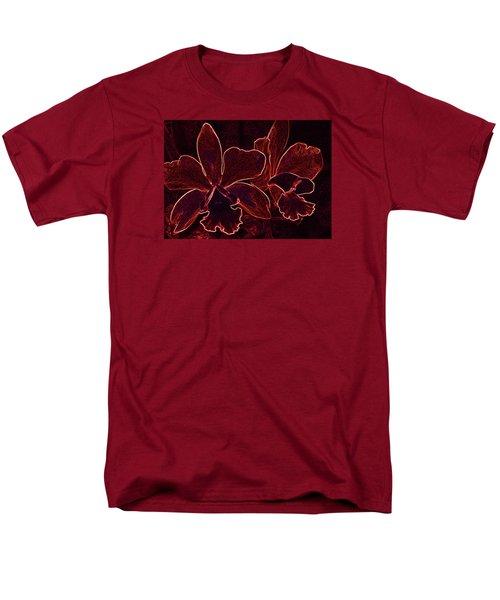 Orchids - For Pele Men's T-Shirt  (Regular Fit) by Kerri Ligatich