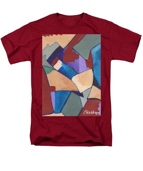 Organic Abstract Series II Men's T-Shirt  (Regular Fit) by Patricia Cleasby
