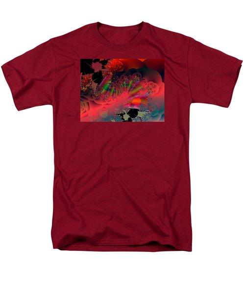 Men's T-Shirt  (Regular Fit) featuring the digital art Oriental Inspired by Ann Peck