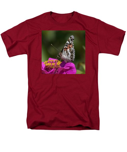 Painted Lady Men's T-Shirt  (Regular Fit) by David Lester
