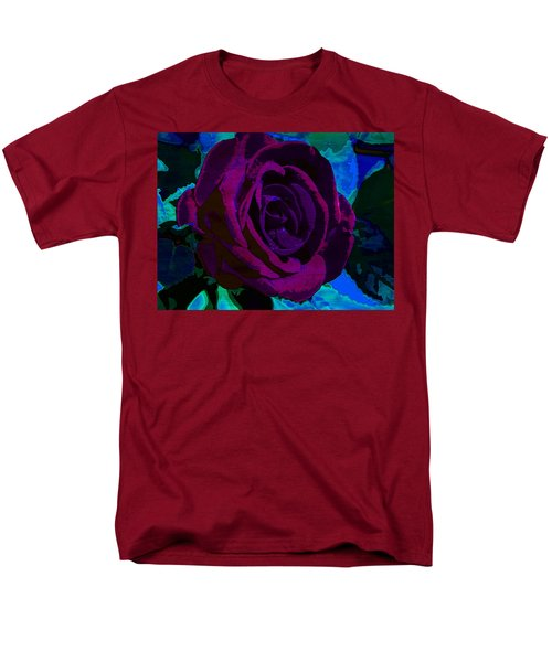 Painted Rose Men's T-Shirt  (Regular Fit) by Samantha Thome