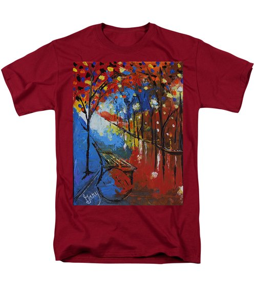 Park Bench Men's T-Shirt  (Regular Fit) by Gary Smith