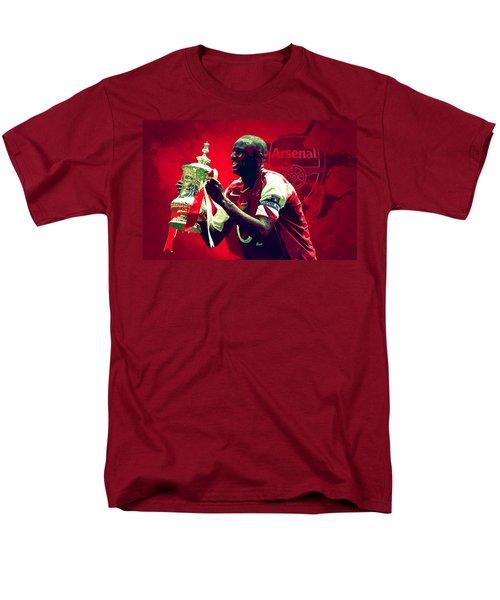 Patrick Vieira Men's T-Shirt  (Regular Fit) by Semih Yurdabak