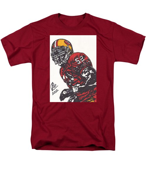 Patrick Willis Men's T-Shirt  (Regular Fit) by Jeremiah Colley
