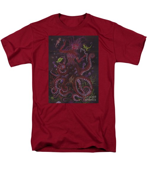 Men's T-Shirt  (Regular Fit) featuring the drawing Pearls by Dawn Fairies