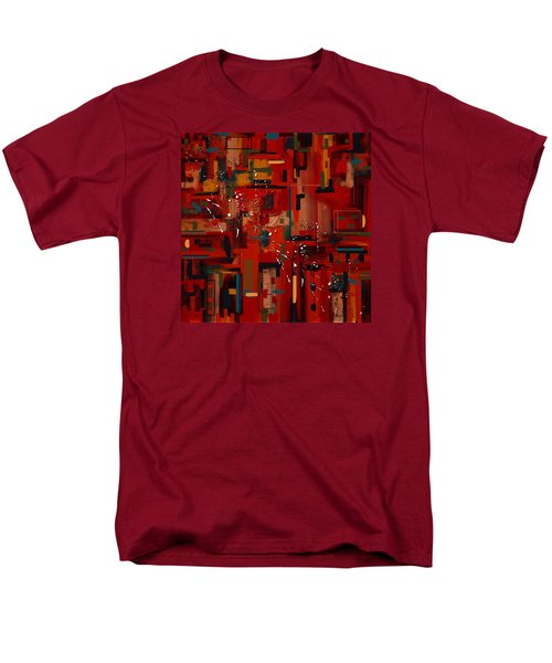 Men's T-Shirt  (Regular Fit) featuring the painting Penman Original-233 by Andrew Penman