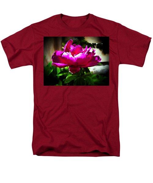 Men's T-Shirt  (Regular Fit) featuring the photograph Peony by Joseph Frank Baraba