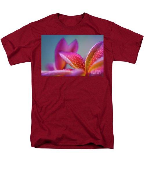 Men's T-Shirt  (Regular Fit) featuring the photograph Pua Melia Ke Aloha Hawaii  by Sharon Mau