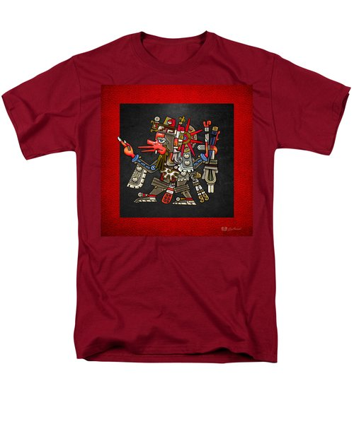 Quetzalcoatl - Codex Borgia Men's T-Shirt  (Regular Fit) by Serge Averbukh