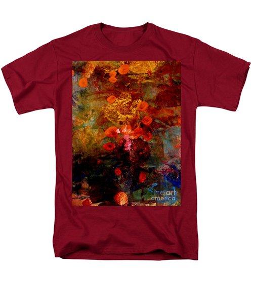 Radiant Red Men's T-Shirt  (Regular Fit) by Nancy Kane Chapman