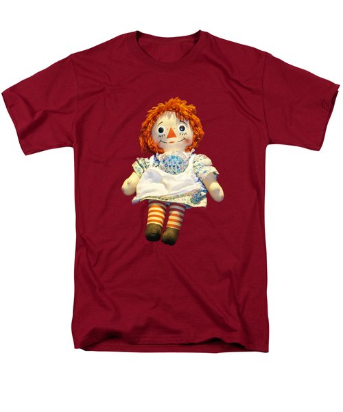Raggedy Ann Doll Men's T-Shirt  (Regular Fit) by Pamela Walton
