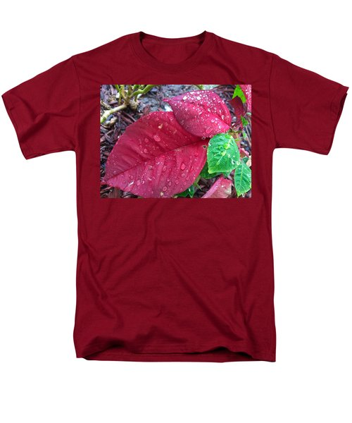 Rain Drops Men's T-Shirt  (Regular Fit) by Carlos Avila