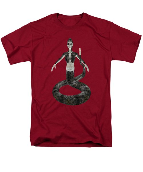 Rattlesnake Alien World Men's T-Shirt  (Regular Fit) by Dora Hembree