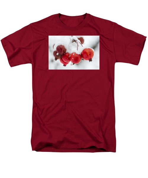 Men's T-Shirt  (Regular Fit) featuring the photograph Red And White by Sebastian Musial