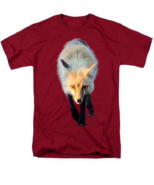 Red Fox Shirt Men's T-Shirt  (Regular Fit) by Greg Norrell