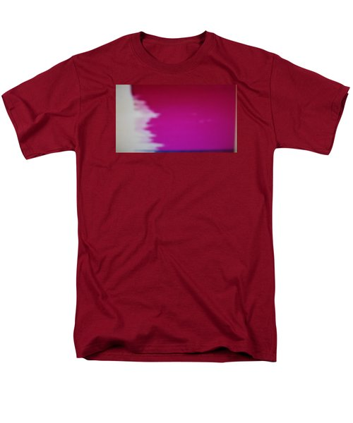 Men's T-Shirt  (Regular Fit) featuring the painting Red Sky by Don Koester
