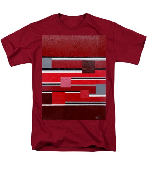 Red Square Men's T-Shirt  (Regular Fit) by Tara Hutton