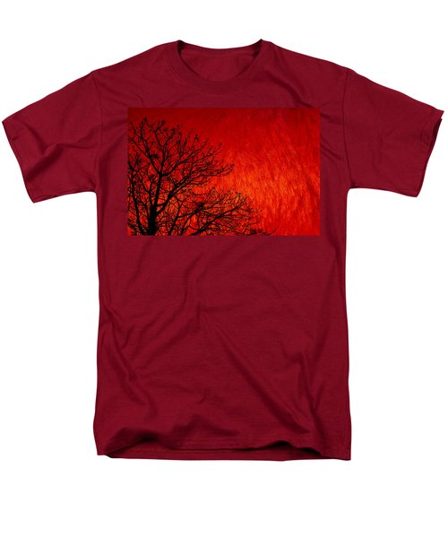 Red Storm Men's T-Shirt  (Regular Fit) by Charuhas Images