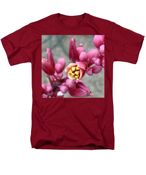 Red Yucca Macro Men's T-Shirt  (Regular Fit) by Russell Keating