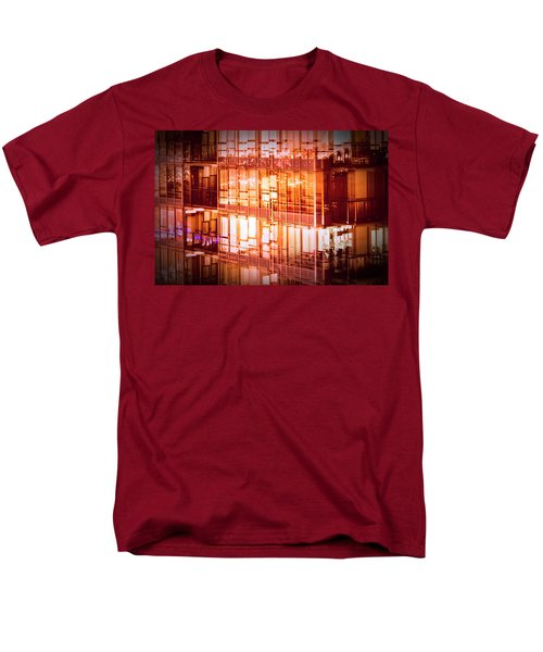 Reflectionary Phase Men's T-Shirt  (Regular Fit)