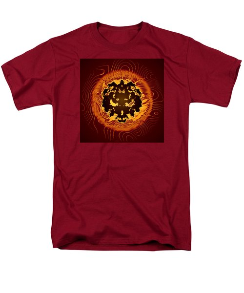 Men's T-Shirt  (Regular Fit) featuring the digital art Resident Evil by Mario Carini