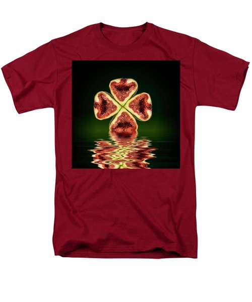 Men's T-Shirt  (Regular Fit) featuring the photograph Ripe Juicy Figs Fruit by David French