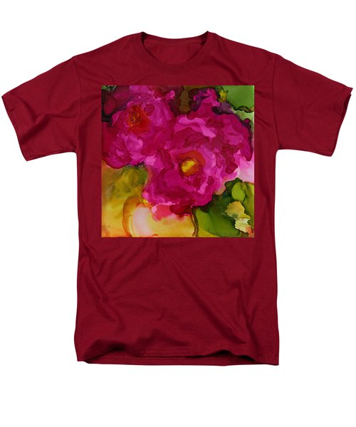 Rose To The Occation Men's T-Shirt  (Regular Fit) by Joanne Smoley
