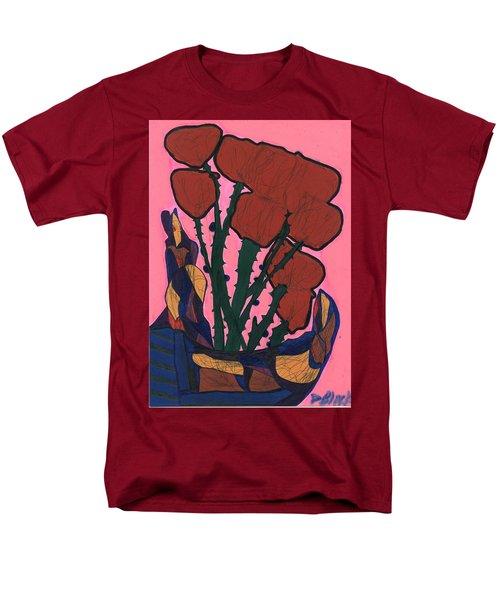 Rosebed Men's T-Shirt  (Regular Fit) by Darrell Black