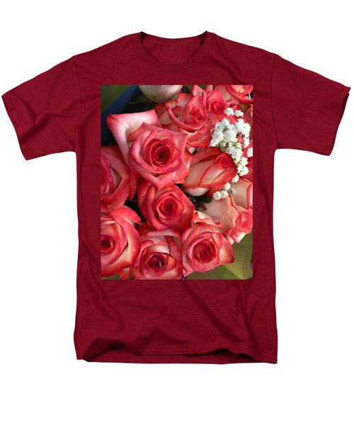 Roses For God Men's T-Shirt  (Regular Fit) by Carlos Avila