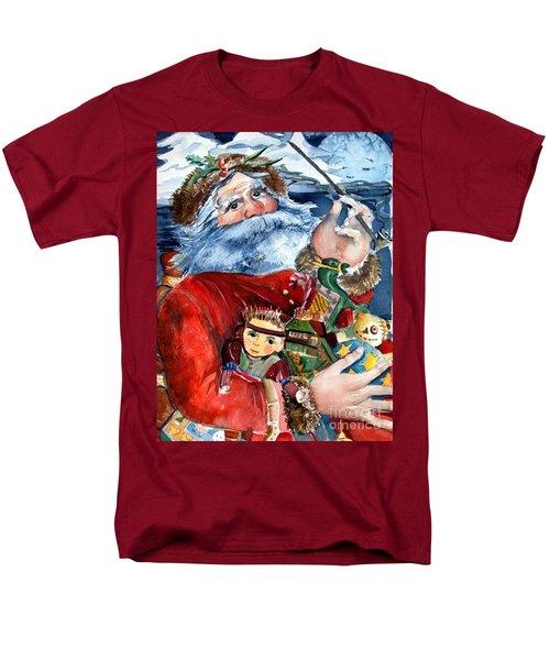 Santa Men's T-Shirt  (Regular Fit) by Mindy Newman