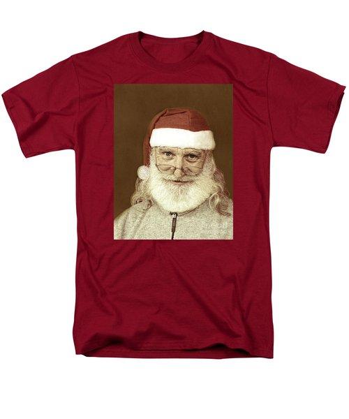 Santa's Day Off Men's T-Shirt  (Regular Fit) by Linda Phelps