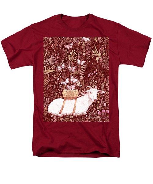 Men's T-Shirt  (Regular Fit) featuring the digital art Scapegoat Healing Tapestry Print by Lise Winne