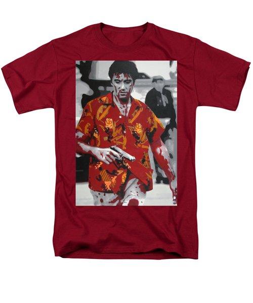 Scarface 2013 Men's T-Shirt  (Regular Fit) by Luis Ludzska