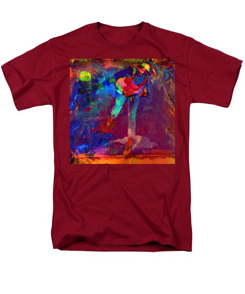 Serena Williams Return Explosion Men's T-Shirt  (Regular Fit) by Brian Reaves