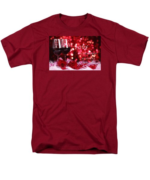 Men's T-Shirt  (Regular Fit) featuring the photograph Set On Fire by David Norman