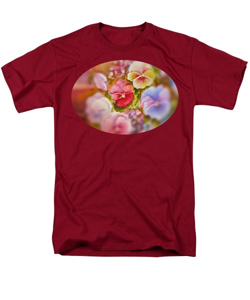 Spirit Petals Men's T-Shirt  (Regular Fit) by Patricia Schneider Mitchell