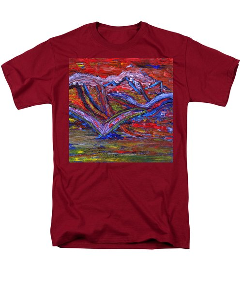 Men's T-Shirt  (Regular Fit) featuring the painting Spread Your Wings by Vadim Levin