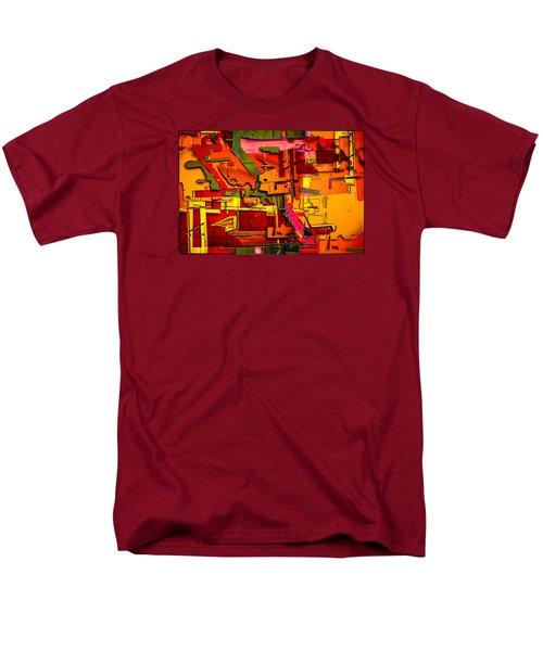 Industrial Autumn Men's T-Shirt  (Regular Fit) by Don Gradner