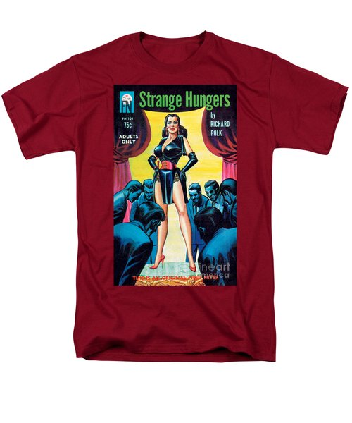 Men's T-Shirt  (Regular Fit) featuring the painting Strange Hungers by Eric Stanton