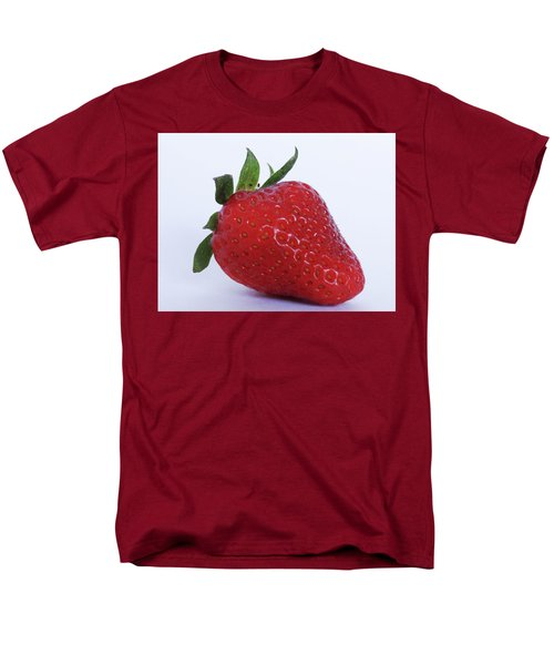 Strawberry Men's T-Shirt  (Regular Fit) by Julia Wilcox
