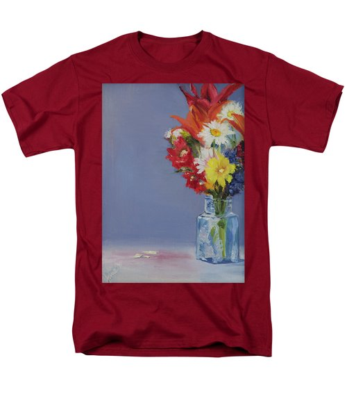 Summer Bouquet Men's T-Shirt  (Regular Fit)