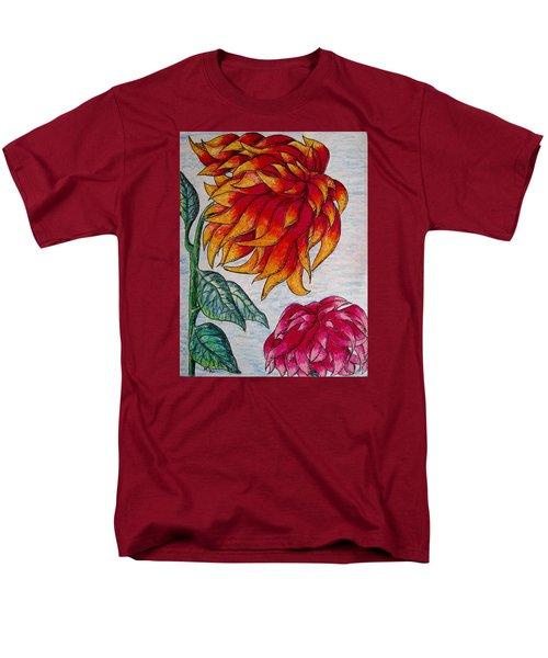 Sunburst And Peppermint Men's T-Shirt  (Regular Fit) by Megan Walsh